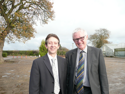 Steve Riley with Norman Lamb
